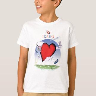 Idaho Head and Heart, tony fernandes T-Shirt
