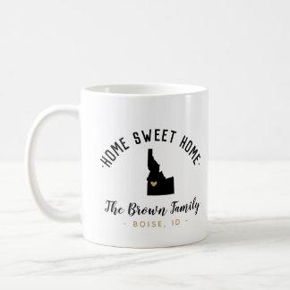 Idaho Home Sweet Home Family Monogram Mug