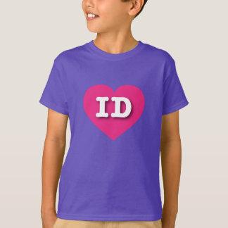 Idaho Hot Pink Heart - Big Love T-Shirt