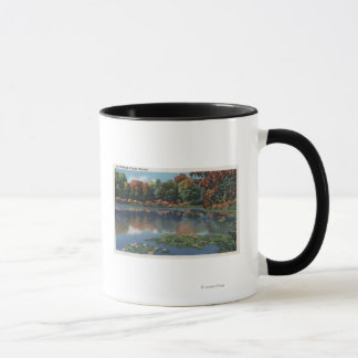 Idaho Lake Scene with Lily PadsIdaho Mug