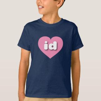 Idaho pink heart - mini love T-Shirt
