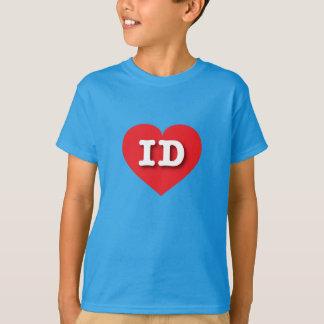 Idaho Red Heart - Big Love T-Shirt
