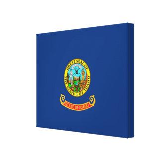 Idaho State Flag Design Canvas Print