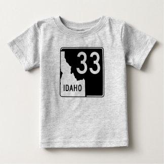 Idaho State Highway 33 Baby T-Shirt