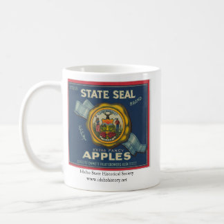 Idaho State Seal Apples Coffee Mug