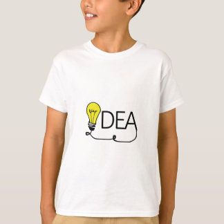 Idea Lightbulb, Light-bulb T-Shirt