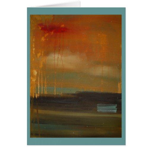 idea of a landscape cards