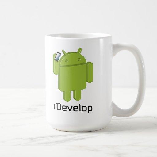 iDevelop coffee mug