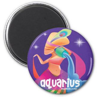Idolz Aquarius Circle Magnet