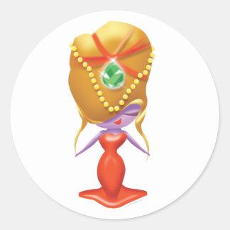 Idolz Divas Gema Classic Round Sticker