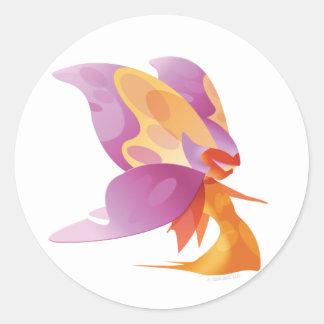 Idolz Fairies Shug Classic Round Sticker