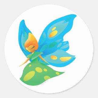 Idolz Fairies Zra Classic Round Sticker