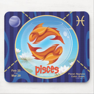 Idolz Pisces Mouse Pad 01