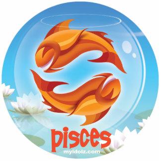 Idolz Pisces Ornament Photo Sculpture Decoration