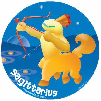 Idolz Sagittarius Pin Photo Sculpture Badge