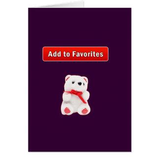 IE7 favorites Card