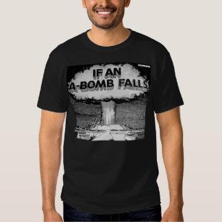 If an A-Bomb Falls Vintage Comic Book Art T-Shirt