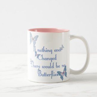 If nothing ever changed Two-Tone mug