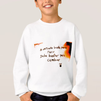 If one minute is enough to die, it is enough to sweatshirt
