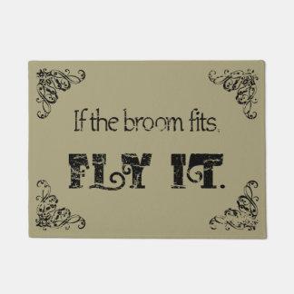 If the Broom Fits doormat