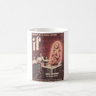 If v01 n04 (1952-09.Quinn)- Pulp Art Basic White Mug
