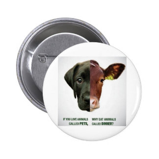 If You Love Animals Called Pets... 6 Cm Round Badge