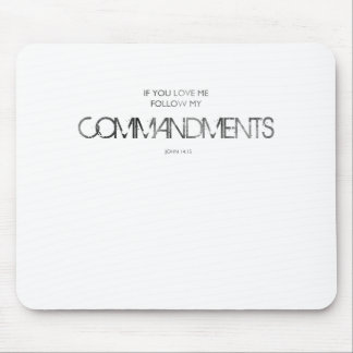 If You Love Me Mousepads