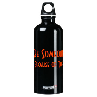 If You See Someone Crying Ask.. Funny Water Bottle SIGG Traveller 0.6L Water Bottle