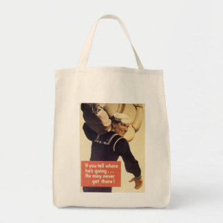If You Tell World War 2 Tote Bag