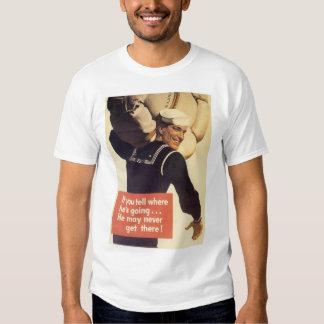 If You Tell World War 2 T Shirts
