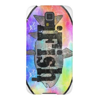iFish Rainbow Design Galaxy S5 Cover