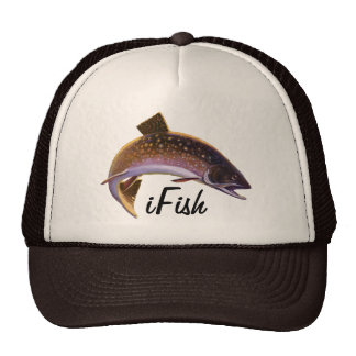 iFish, Vintage Sports Trout Fish Fishing Hat