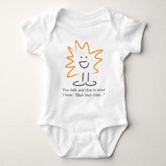 iggi - Orange Baby Bodysuit