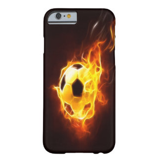 Ignited Soccer Ball iPhone 6 case Barely There iPhone 6 Case