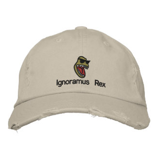 Ignoramus Rex Embroidered Hats