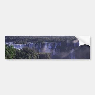 Iguacu Falls in Brazil and Argentina Bumper Stickers