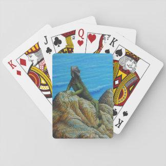 Iguana Bridge Playing Cards