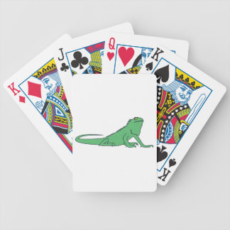 Iguana iguana bicycle playing cards