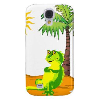 Iguana In The Desert Galaxy S4 Case