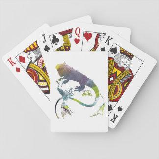 Iguana Playing Cards