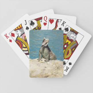 Iguana Tropical Wildlife Playing Cards