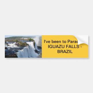 Iguazu Falls Bumper Sticker
