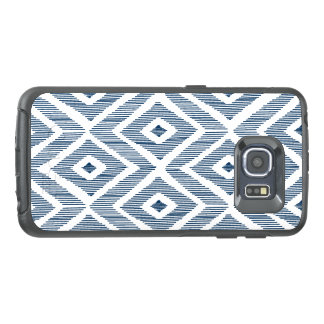 Ikat in Navy OtterBox Samsung Galaxy S6 Edge Case