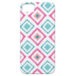 Ikat iPhone 5 Case (Pink)