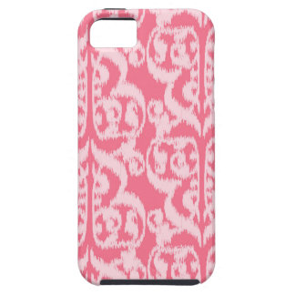 Ikat Moorish Damask - shades of coral pink Case For The iPhone 5