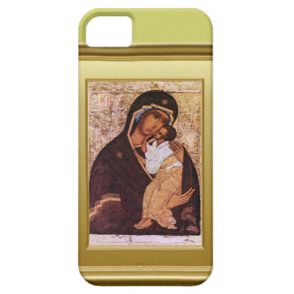 Ikon of the Virgin Mary and Jesus Case For The iPhone 5
