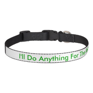 I'll do anything for the ball pet collar