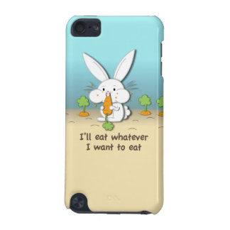 I'll eat whatever I want to eat iPod Touch (5th Generation) Covers