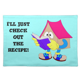I'll just check out the recipe! placemat
