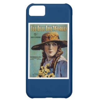 I'll Tell The World Cover For iPhone 5C